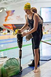 AUS, COLE Ellie (S9)  at 2015 IPC Swimming World Championships -  Women's 100m Backstroke S9
