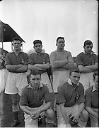 25/01/1953.01/25/1953.25 January 1953.League of Ireland at Milltown Park, Limerick City v Shamrock Rovers. Part of the winning Limerick Team.