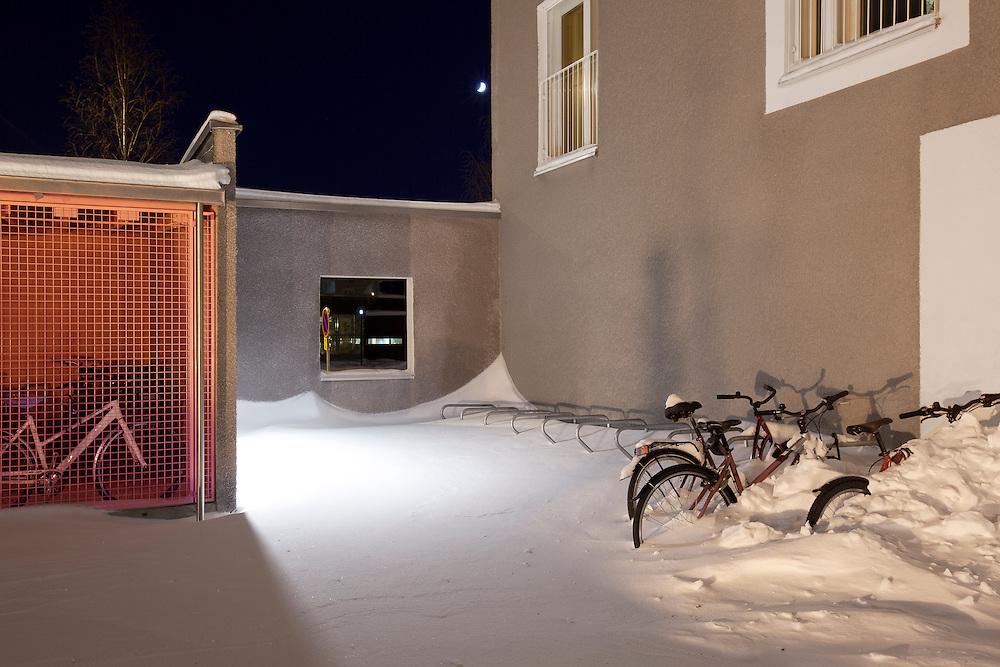 Viikki HOAS student housing in Helsinki, Finland designed by Playa architects.
