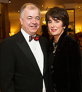 At the SCSI, (Society of Chartered Surveyors Ireland) - Western Region Annual Dinner 2016 in the Ardilaun Hotel Galway were Padraic and Sandra Rattigan, JJ Rattigan. Photo:Andrew Downes, xpousre