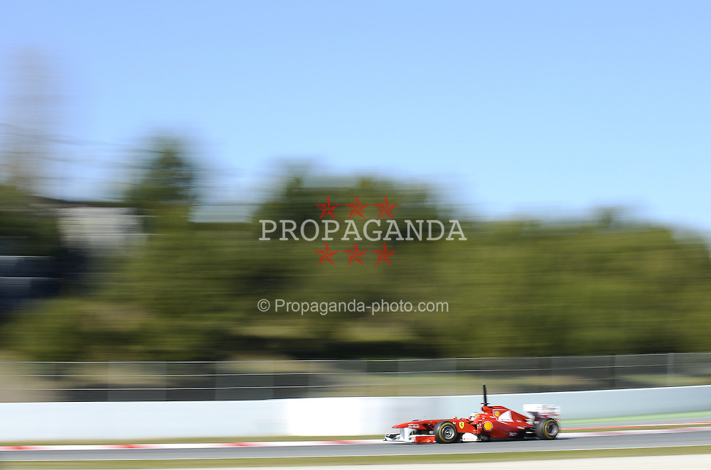18.02.2011, Circuit de Catalunya, Barcelona, ESP, Formel 1 Test 3 2011,  im Bild Fernando Alonso (ESP),  Scuderia Ferrari EXPA Pictures © 2011, PhotoCredit: EXPA/ nph/  Dieter Mathis       ****** out of GER / SWE / CRO  / BEL ******
