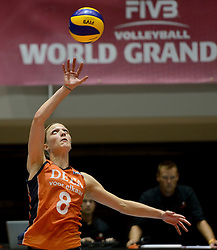 10-08-2014 NED: FIVB Grand Prix Polen - Nederland, Doetinchem<br /> Judith Pietersen