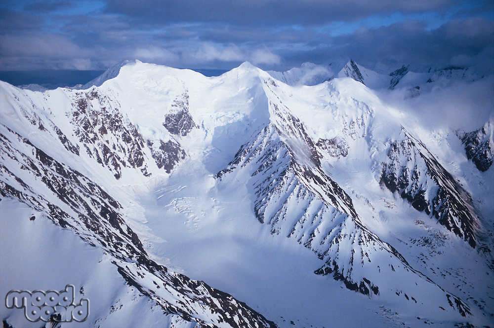 Snow-covered Mountains