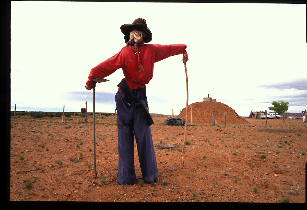 Scarecrow, Navajo Reservation.  1993.