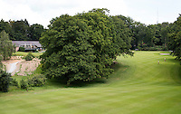 HOOG SOEREN  - Hole 9 van de Veluwse Golf Club. De hole heeft een dal. COPYRIGHT KOEN SUYK