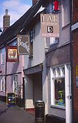 ADFTJC Shop and pub signs the Thoroughfare Woodbridge Suffolk England