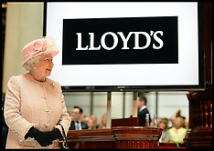 The Queen Lloyds of London