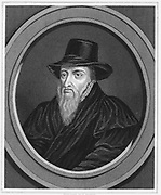 Theodore Beza or Beze (1519-1605) French religious reformer and leading Calvinist. Engraving c1851.