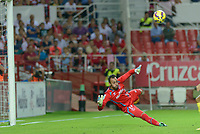 Sevilla's goalkeeper Beto during the match between Sevilla FC and Villarreal day 9 spanish  BBVA League 2014-2015 day 5, played at Sanchez Pizjuan stadium in Seville, Spain.(PHOTO: CARLOS BOUZA / BOUZA PRESS / ALTER PHOTOS)