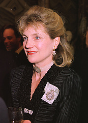 The HON.MRS SANDERS a lady in waiting to Princess Michael of Kent, at a reception in London on 14th May 1998.MHM 65