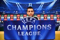 Javier PASTORE  - 20.04.2015 - Conference de Presse du Paris Saint Germain  - Champions League<br />Photo : Dave Winter / Icon Sport