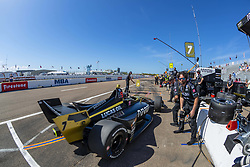 March 9, 2019 - St. Petersburg, Florida, U.S. - MARCUS ERICSSON (7) of Sweeden prepares for a practice session for the Firestone Grand Prix of St. Petersburg at The Temporary Waterfront Street Course in St. Petersburg Florida. (Credit Image: © Walter G Arce Sr Asp Inc/ASP)