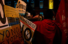 OCT 23 2012 Demonstrations Against Political Class Madrid