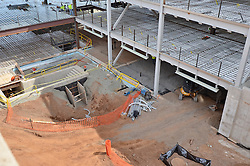 Camera View: Southeast. Foundations, first and second floors. Central Connecticut State University. New Academic Building.  Project No: BI-RC-324. Architect: Burt Hill Kosar Rittelmann Associates. Contractor: Gilbane Building Company, Glastonbury, CT.