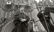 Speakers - Anti Clause 28 demonstration, Manchester, 1988