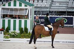 Breda Bernie, (IRL), Master Mexico - Team Competition Grade Ib Para Dressage - Alltech FEI World Equestrian Games™ 2014 - Normandy, France.<br /> © Hippo Foto Team - Jon Stroud <br /> 25/06/14