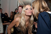 CARA DELEVIGNE, Harper's Bazaar Women Of the Year Awards 2011. Claridges. Brook St. London. 8 November 2011. <br /> <br />  , -DO NOT ARCHIVE-© Copyright Photograph by Dafydd Jones. 248 Clapham Rd. London SW9 0PZ. Tel 0207 820 0771. www.dafjones.com.