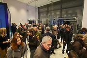 Mannheim. 15.12.17 |<br /> Kunsthalle. Neubau. Eröffnung des 68,3 Mio Euro Bauprojektes mit einer langen Opening Night bei freiem Eintritt für die Besucher.<br /> <br /> Bild-ID 158 | Markus Proßwitz 15DEC17 / masterpress