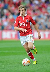 Bristol City's Luke Freeman  - Photo mandatory by-line: Joe Meredith/JMP - Mobile: 07966 386802 - 27/09/2014 - SPORT - Football - Bristol - Ashton Gate - Bristol City v MK Dons - Sky Bet League One