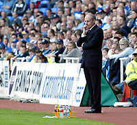 Photo. Chris Ratcliffe<br /> Reading v Wolverhampton Wanderers. Coca Cola Championship. 30/04/2005<br /> A bad day for Steve Coppell