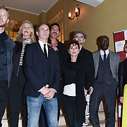 London,UK, 26th Feb 2015 : Calvin Harris, Sara Dallin, David  Thomas ,Lionel Richie, Lisa Stansfield,Boy George,Ozwald Boateng and Emilia Fox attends the Vanity Project for the Prince's Trust at Hotel Cafe Royal in London. Photo by See Li