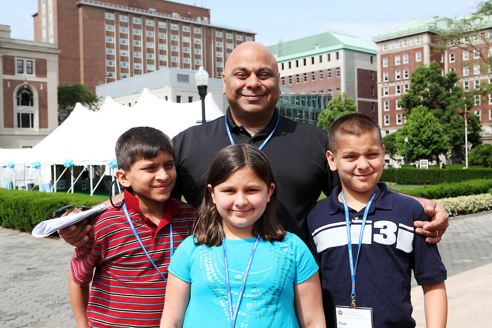 "Raj Seth '86.Children: Ryan, 12, Laura, 8, Paul, 11..""New York is a lot friendlier than outsiders think.""..""When you're at Columbia, get to know as many people as you can. That's the most important thing you can do in college."""