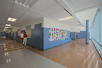 Architectural interior image of IDEA Charter School by Jeffrey Sauers of Commercial Photographics