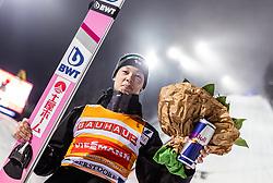 02.02.2019, Heini Klopfer Skiflugschanze, Oberstdorf, GER, FIS Weltcup Skiflug, Oberstdorf, Siegerehrung, im Bild Sieger Ryoyu Kobayashi (JPN) // Winner Ryoyu Kobayashi of Japan during the winner Ceremony of FIS Ski Jumping World Cup at the Heini Klopfer Skiflugschanze in Oberstdorf, Germany on 2019/02/02. EXPA Pictures © 2019, PhotoCredit: EXPA/ JFK
