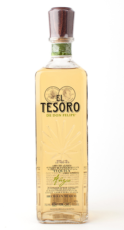 El Tesoro de Don Felipe anejo -- Image originally appeared in the Tequila Matchmaker: http://tequilamatchmaker.com