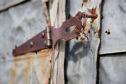 """""""Locked""""- This old building was photographed in Sierraville, CA."""