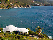 View of the St. John's Dome House, near Cruz Bay, St. Johns, US Virgin Islands