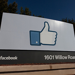 Facebook Sign, 1601 Willow Road, Menlo Park, CA 94025