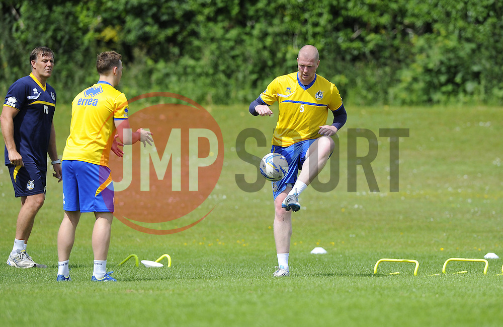 Bristol Rovers' Garry Kenneth takes part in training - Photo mandatory by-line: Joe Meredith/JMP - Tel: Mobile: 07966 386802 24/06/2013 - SPORT - FOOTBALL - Bristol -  Bristol Rovers - Pre Season Training - Npower League Two