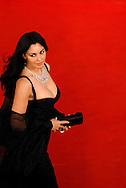 """Rome, Italy 18/10/2007: """"Festa del Cinema di Roma"""", Italian actress Monica Bellucci"""