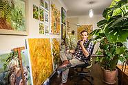 Artist Johnny Morant