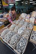 Jagalchi Fish Market. Anchovies.