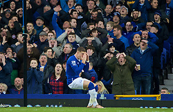 LIVERPOOL, ENGLAND - Sunday, January 24, 2016: Everton's Ross Barkley misses an easy chance against Swansea City during the Premier League match at Goodison Park. (Pic by David Rawcliffe/Propaganda)