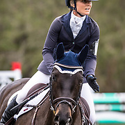 Christina Henriksen and JTH Zest at the Red Hills International Horse Trials in Tallahassee, Florida.