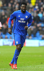 Bruno Ecuele Manga of Cardiff City - Mandatory by-line: Nizaam Jones/JMP- 13/01/2018 -  FOOTBALL - Cardiff City Stadium - Cardiff, Wales -  Cardiff City v Sunderland - Sky Bet Championship