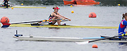 Hamburg. GERMANY.   USA JW1X, Elizabeth SHARIS. Saturday Morning, Semi Finals A/B  at the 2014 FISA Junior World rowing. Championships.  11:28:04  Saturday  09/08/2014  [Mandatory Credit; Peter Spurrier/Intersport-images] 2014. Empacher. Hamburg.