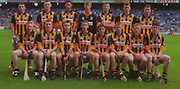 All Ireland Senior Hurling Championship - Final, .13.09.1998, 09.13.1998, 13th September 1998, .13091998AISHCF,.Senior Kilkenny v Offaly, .Minor Kilkenny v Cork,.Offaly 2-16, Kilkenny 1-13,..Kilkenny, back row front left, Joey Murray, Canice Hickey, John Coogan, Jamie Power, Kieran Rafter, Brian Phelan, Gearoid Cleere, Front row from left, Kevin Power, Noel HIckey, Paul Sheehan, Colin Herity, Paul Shefflin captain, John Morgan, James Ryall, Ken Moore,..Dunnes Stores,
