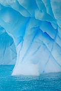 close up of iceberg bas.