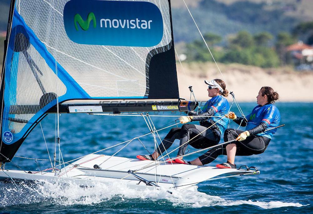 Santander 2014 ISAF Sailing World Championships.