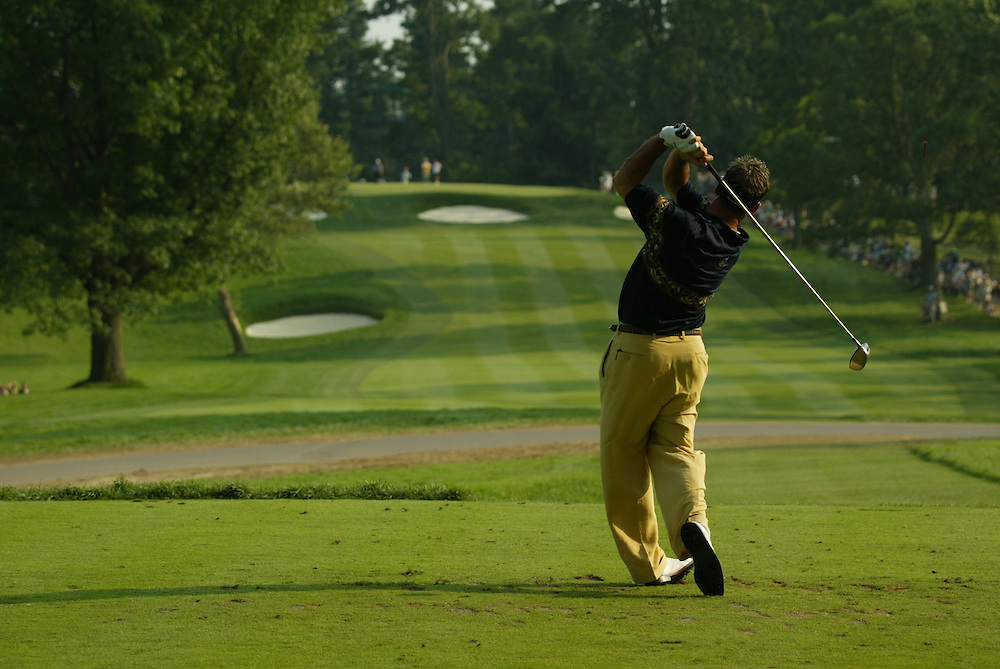 Rich Beem..2003 PGA Championship..Second Round..Oak Hill CC..Rochester, NY..Friday, August 15 2003..photograph by Darren Carroll