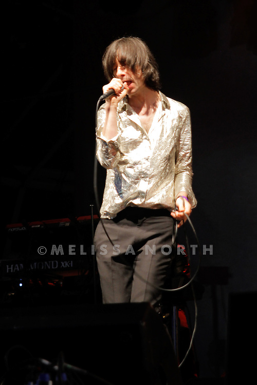 Primal Scream perform at Camp Bestival on 31 July in Lulworth.