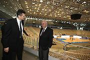 DESCRIZIONE : Torino PalaIsozaki Commissione FIBA in visita per assegnazione dei Mondiali 2014<br /> GIOCATORE : Boris Stankovic Predrag Bogosavljev SQUADRA : Fiba Fip<br /> EVENTO : Visita per assegnazione dei Mondiali 2014<br /> GARA :<br /> DATA : 30/03/2009<br /> CATEGORIA : Ritratto<br /> SPORT : Pallacanestro<br /> AUTORE : Agenzia Ciamillo-Castoria/G.Ciamillo<br /> Galleria : Italia 2014<br /> Fotonotizia : Torino visita per assegnazione dei Mondiali 2014<br /> Predefinita :