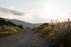 17 April 2019, Tulkarem, West Bank, Occupied Palestinian Territories: The village of Yanoun sits on a hillside in the Nablus Governorate of the West Bank. There is only one road into the village, which is otherwise surrounded on all sides by Israeli settlements.
