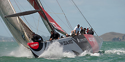 Auckland New Zealand, 31.1.09 Louis Vuitton Pacific Series racing day 2, Alinghi winner against Luna Rossa
