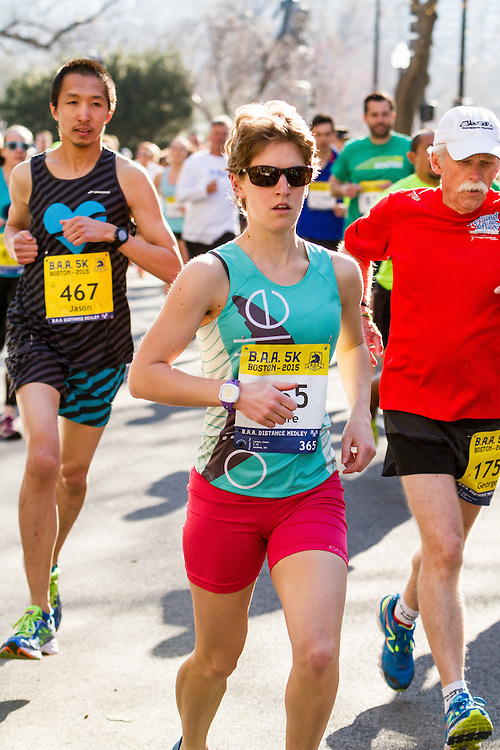 Boston Marathon: BAA 5K road race, Oiselle
