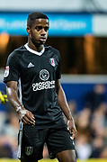 Fulham (3) Ryan Sessegnon during the EFL Sky Bet Championship match between Queens Park Rangers and Fulham at the Loftus Road Stadium, London, England on 29 September 2017. Photo by Sebastian Frej.